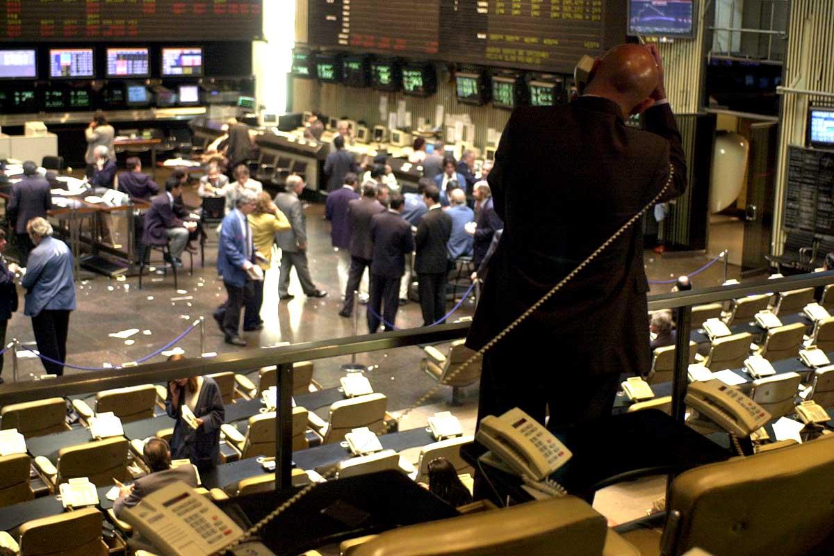 jornada record de alza de la bolsa de valores